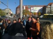 Tilo guider byvandring i Leipzig